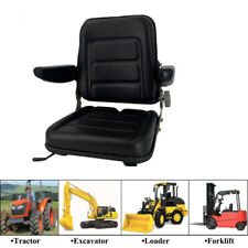 Lawn Garden Slidable Black Tractor Seat Riding Mower Seat Forklift Seat