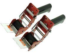 """2pk 2"""" Packaging Tape Dispenser Mousetrap Packing Shipping Carton Sealing Gun"""