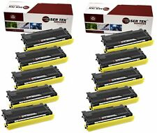 10PK Compatible TN-350 TN350 High Yield Toner Cartridge for the Brother HL-2070N
