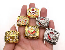 6Pcs 1992 1998 2001 2008 2014 2018 Calgary Stampeders Grey Cup Championship Ring