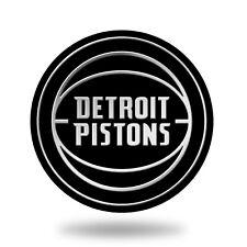 Detroit Pistons Molded Auto Emblem. Adhesive Backing.   #936