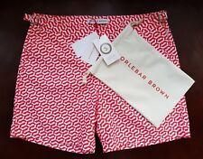 New Orlebar Brown Bulldog Swim Shorts Arroyo Geometric Print