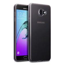 SAMSUNG Galaxy A7 2017 CASE impatto spostamento Micro Precisione gel nero fumo