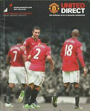 """The Official 2012/13 Season Catalogue """"MANCHESTER UNITED"""""""