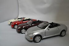 Welly - Lexus SC430 Convertible 1:36 Scale Silver, Violet, Red, White 5""