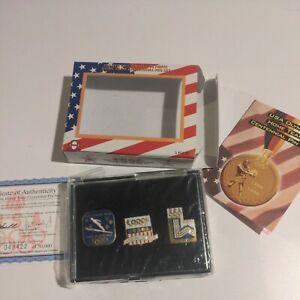 Limit E Edition USA Olympic Home Team Centennial 1996 Pin Set