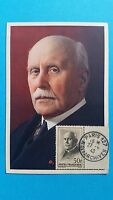 FRANCE CARTE MAXIMUM YVERT 525 PETAIN 50F + PARIS 1943 L 357