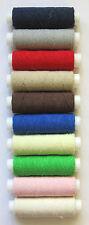 0.5 Shirring Elastic 200Mtrs 10 Rolls Assorted Colours - Si