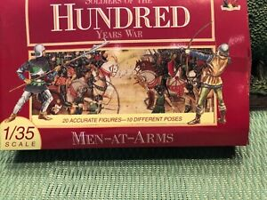 ACCURATE MEN AT ARMS ENGLISH KNIGHTS 1/35 scale 20 FIGURES 2 each in 10 poses