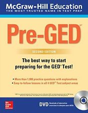 McGraw-Hill Education Pre-GED with DVD, Second Edition by McGraw-Hill Education