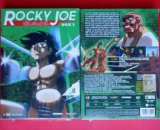 box set 5 dvd + booklet rocky joe box 3 cofanetto 3 asao takamori tetsuya chiba