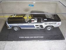 1/32 SCALEXTRIC 1970 #3 TROY PROMOTIONS BOSS 302 TRANS-AM LIMITED SLOT CAR-MIB