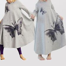 Mädchen-Tops, - T-Shirts & -Blusen aus 100% Baumwolle im Tunika-Stil mit Langarm