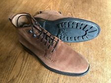 Heschung Pin Suede Derby Boot Size 7.5 - Excellent Condition (Paraboot Style)