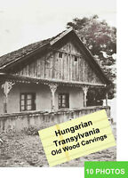 1984 Wood Carvings Hungarian Transylvania 100 pict. Peasant Architecture Church