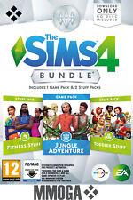 Les Sims 4 Dans la jungle Accessoires Bambins Fitness PC Origin DLC Jeux EU - FR