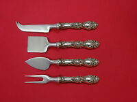 Lucerne by Wallace Sterling Silver Cheese Serving Set 4 Piece HHWS  Custom