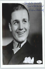 WILLIAM BAKEWELL (DECEASED) GWTW  8X10 SIGNED JSA AUTHENTICATED  COA #P41539