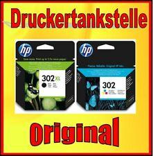 Original HP 302xl Black f6u68ae 302 color f6u65ae deskhet 1110 3630 2130 1112