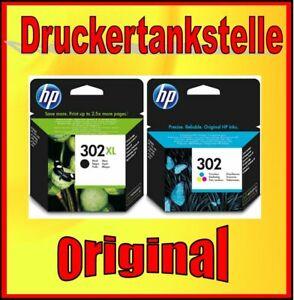 Original HP 302XL Black 302 Color Deskjet 1110 1112 2100 2130 2132 2134 3630 Top