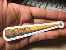 Negan's Lucille Bat from The Walking Dead Series Laptop Sticker