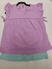 CARTER'S 2 PC GIRL 5T TEE NEW