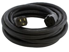 25ft 12 Gauge NEMA 5-15 15A 125V Heavy-Duty Outdoor Extension Cord by AC WORKS®