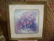 home interiors Large Picture Of Roses In Solid Wood Frame