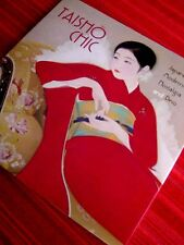 TAISHO CHIC JAPANESE MODERNITY ART DECO Japan Kimono Shin-Hanga Hardcover Book