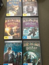 HARRY POTTER Set 6 Dvd Collection Kids Set Collectable  Christmas Gift 🎁