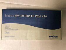 NEW Matrox M9120 Plus LP PCIe x16 512MB