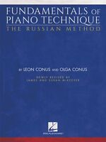 Fundamentals of Piano Technique The Russian Method - Newly Revised 000194228