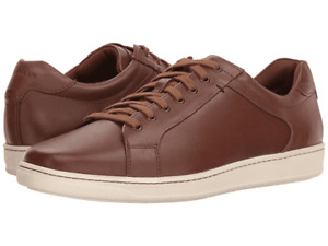 CLEARANCE!! COLE HAAN C28011 MEN'S SHAPLEY SNEAKER II BROWN LEATHER NEW IN BOX