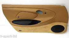 Genuine Porsche 986 Left Hand Side Savanna Leather Interior Door Card Panel