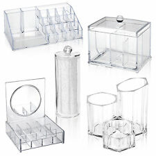 Acrylic Clear Make Up Cosmetic Box Case Storage Holders Organisers Beauty Gift
