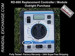 Irritrol Rain Dial RD-600, Hardie RainDial RD600 Module -Fst Shp,Warranty,Tested