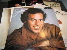 JULIO IGLESIAS - COLLECTION OF JULIO IGLESIAS RECORDS - LOT OF 5 LPS