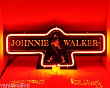 "SD273 Johnnie Walker whisky bar pub Display Neon Light Carve Acrylic Sign 13""X6"""