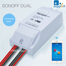SONOFF Dual Channel DIY WIFI Wireless APP Remote Control Switch Socket Module