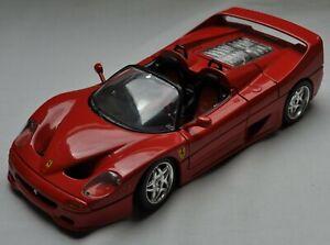 Ferrari F50 cabriolet 1995 - Burago 1/18