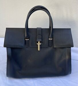 ~AUTHENTIC BALENCIAGA BLACK LEATHER DOCTOR BAG  (A TOTAL SCORE!) ~