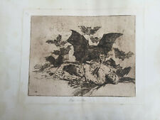 Antique Print GOYA Etching. The Disasters Of War N° 72. Las Resultas – Engraving