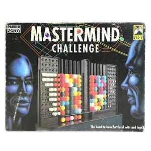 Original Mastermind Challenge Code Game Vintage 1993 by Parker - 100% Complete