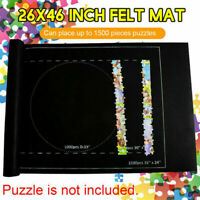 Puzzle Mat Jumbo Jigsaw Board Mat For Up to 1500 Piece Puzzle 26 * 46 inch US