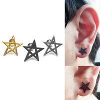 16G Cartilage Star Stud Barbell Bar Earrings Body Ear Piercing Tragus Helix Ring