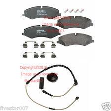 Front Pads Disc Brake Pad kit Set with Sensor for Land 2010-2012 Range Rover HSE