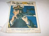 JUNE 29 1918 LITERARY DIGEST magazine WWI cover
