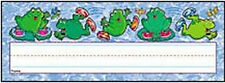 Hop-To-It Frogs Name Plates, Desk (NEW) School