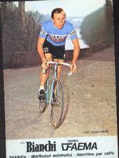 HENRI VAN LINDEN Cyclisme BIANCHI 78 ciclismo Cycling bicilette Team Faema