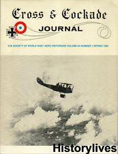 Cross & Cockade Spring84 Escadrille Spa 90 Nieuport Haans Gerd Rabe Halberstadt